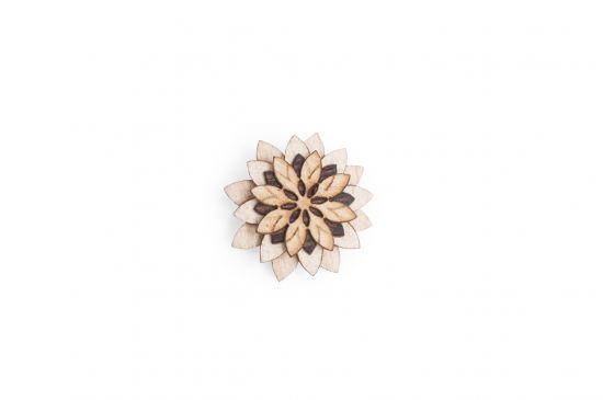 BeWooden - Bellis Flower